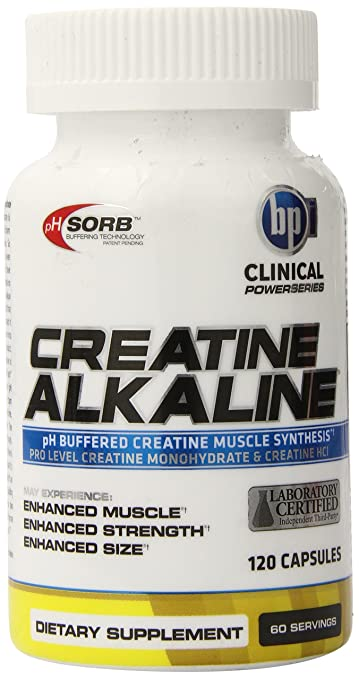 BPI Sports Creatine Alkaline 120 Kapseln ph Buffered