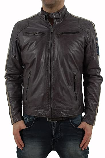 Coole Bikerjacke von Milestone in anthrazit