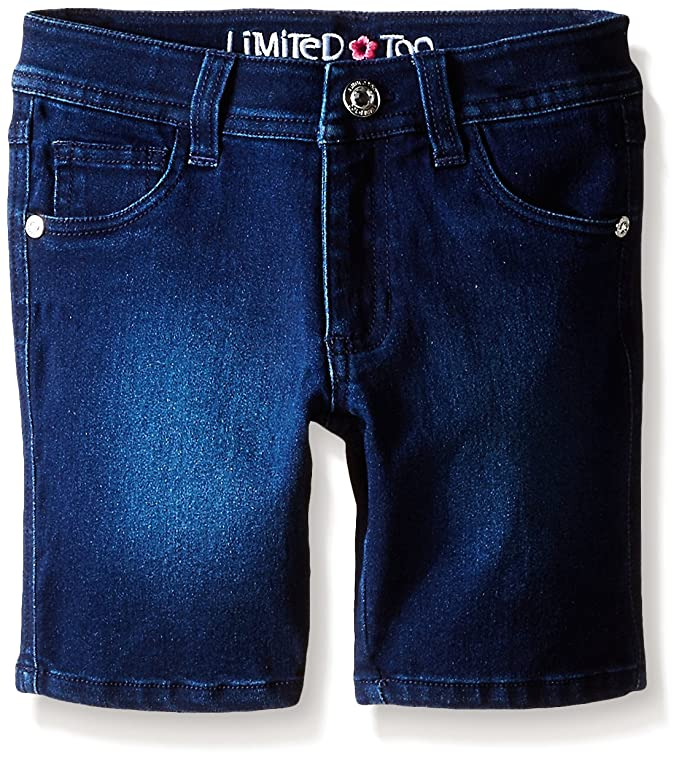 Limited Too Big Girls' Super Soft Denim Bermuda Short
