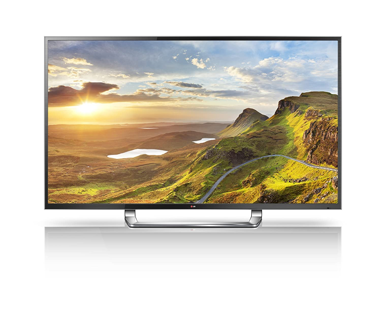 LG Electronics 84LM9600 84-Inch Cinema 3D 4K Ultra HD 120Hz LED-LCD HDTV with Smart TV and Six Pairs of 3D Glasses