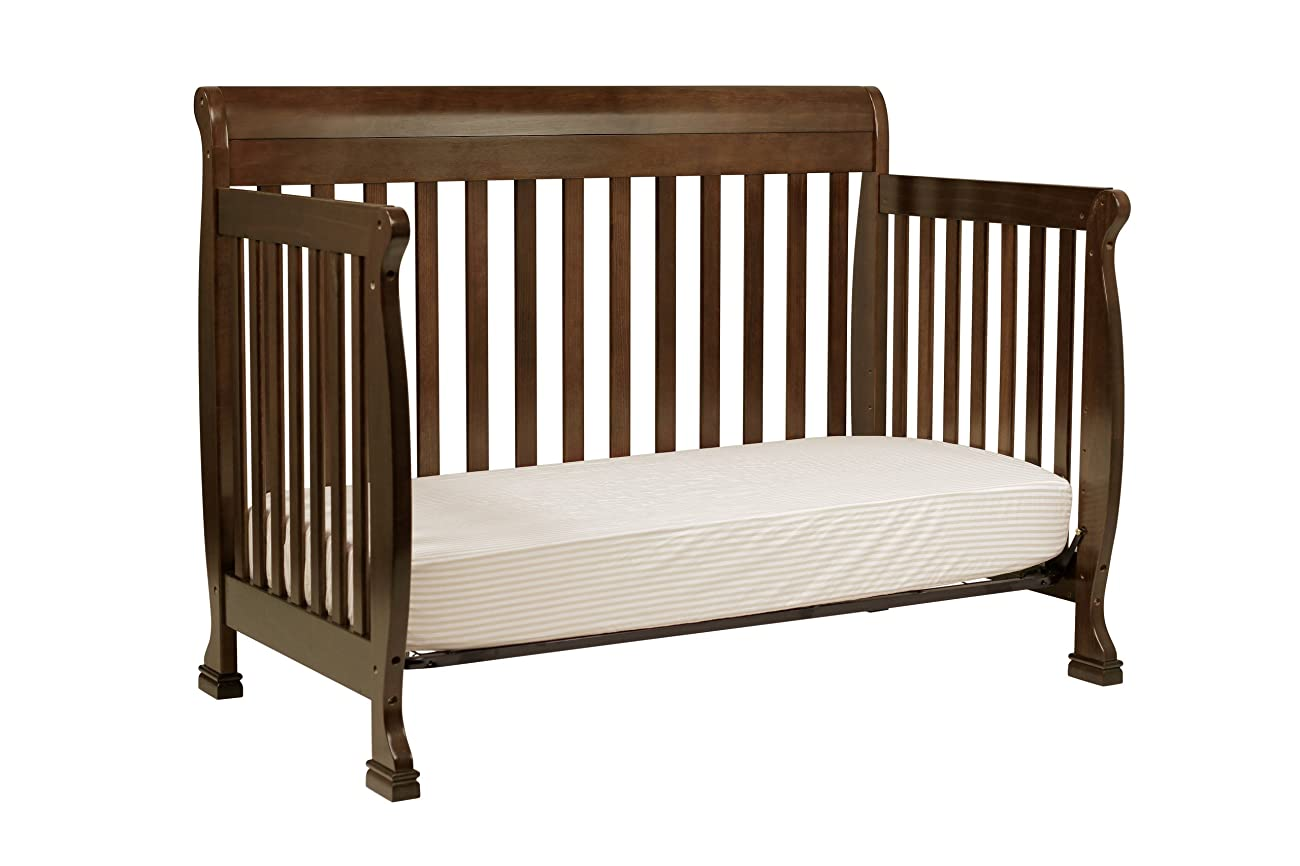 DaVinci Kalani 4-in-1 Convertible Crib with Toddler Rail, Espresso 3