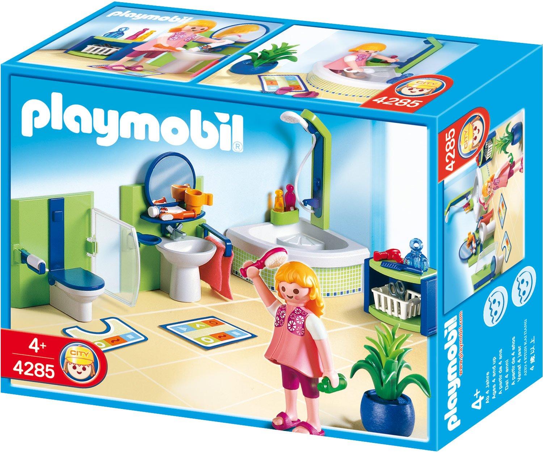 Playmobil a1502743 jeu de construction salle de bain