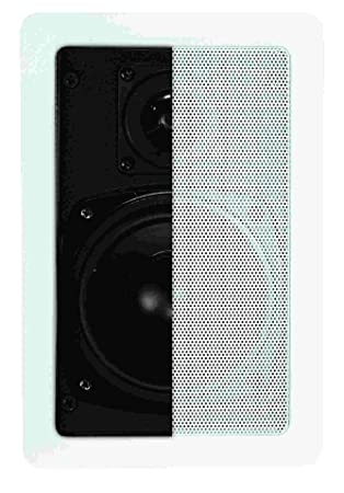 "Artsound Basic Encastrables DC301 Haut-parleurs multimédia Design ""rectangulaire"" 80W Blanc"