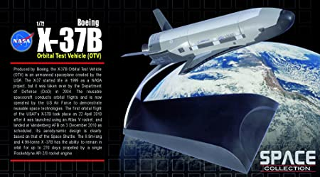 NASA Boeing X-37B Orbital Test Vehicle (OTV) 1:72 SPACE Collection