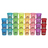 Play-Doh Slime 30 Can Pack - Assorted Rainbow Colors for Ages 3 & Up (Amazon Exclusive) (Color: Not Applicable)