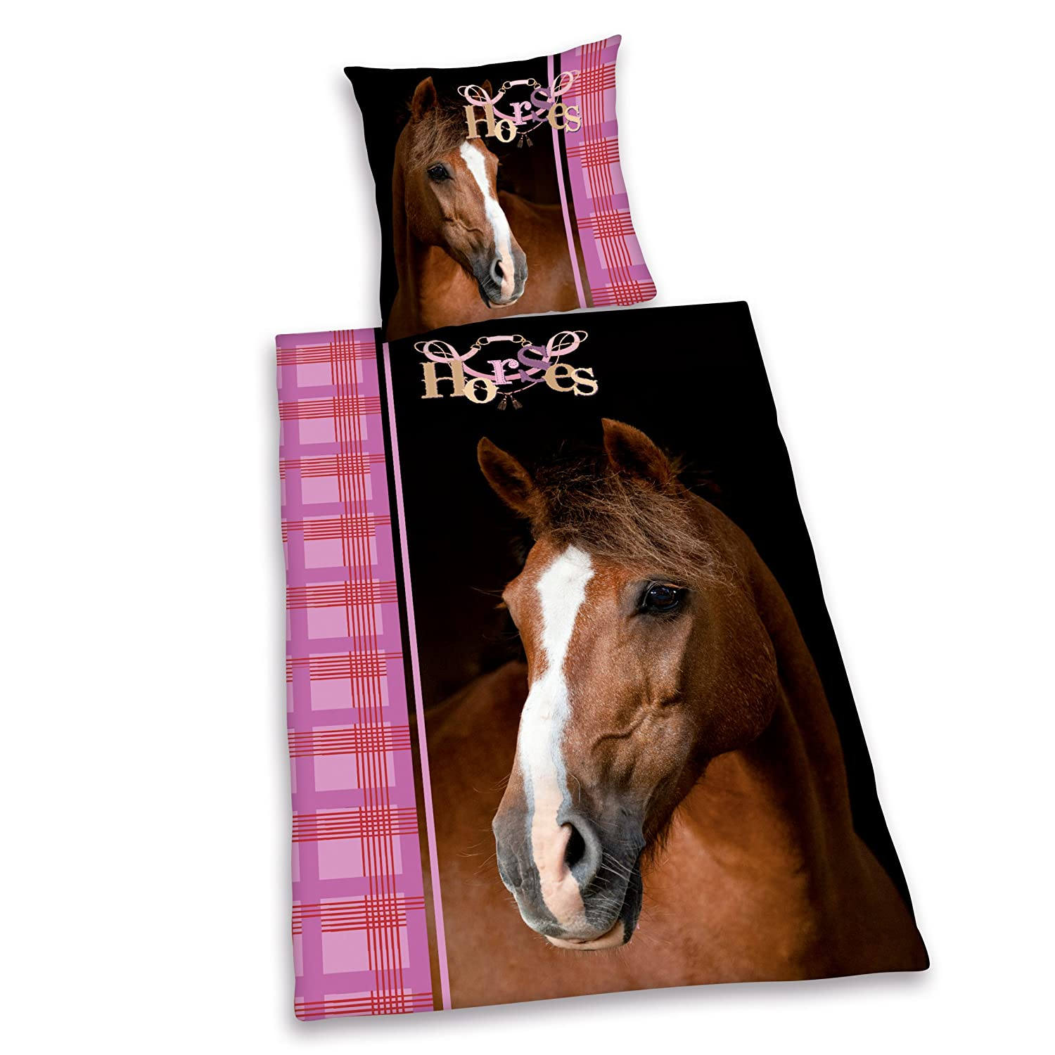 Housse couette cheval for Housse couette cheval