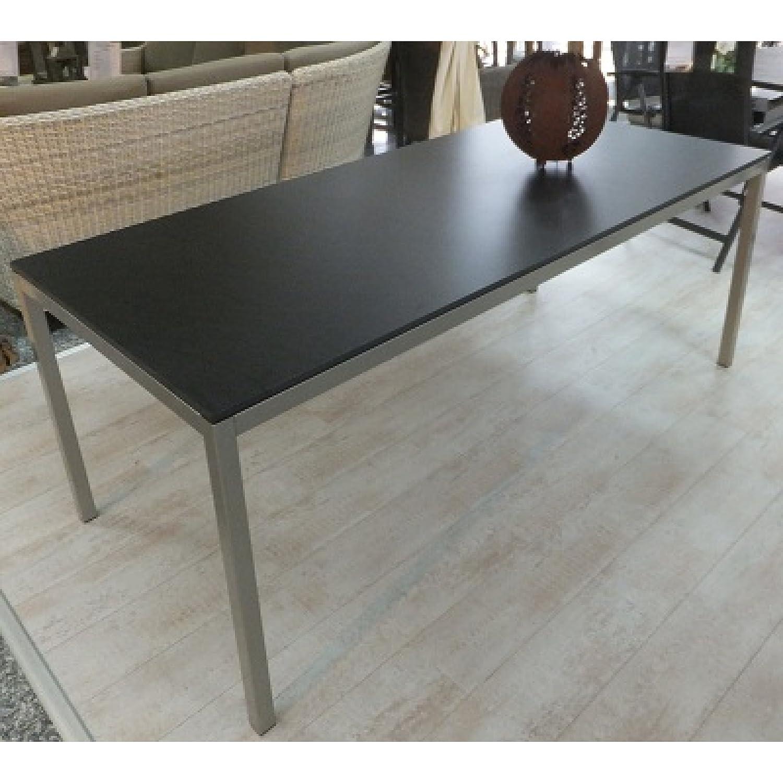 SIT Mobilia Gartentisch Modell Flex aus Stahl mit Platte HPL 200 x 90 cm 418-730 günstig kaufen