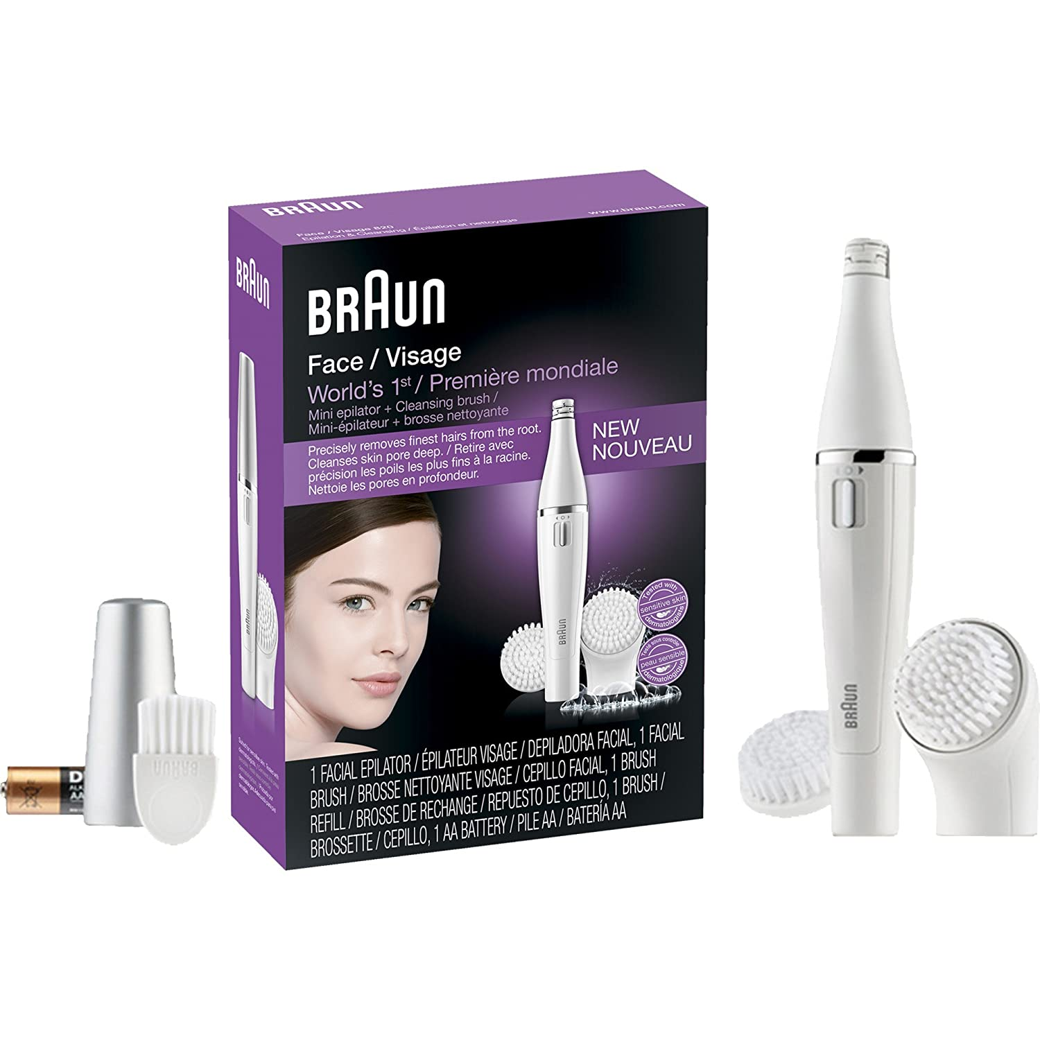 Electric Epilators for Fast & Precise epilation | Braun US