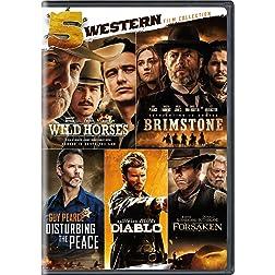 5-Western Film Collection (Wild Horses / Brimstone / Disturbing the Peace / Diablo / Forsaken)