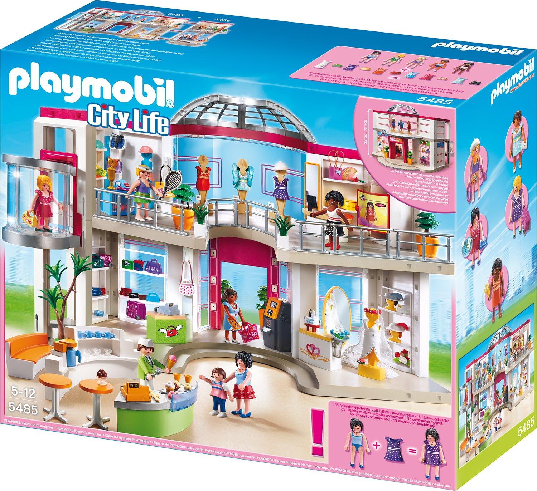 PLAYMOBIL® Shopping-Center mit Einrichtung (5485)