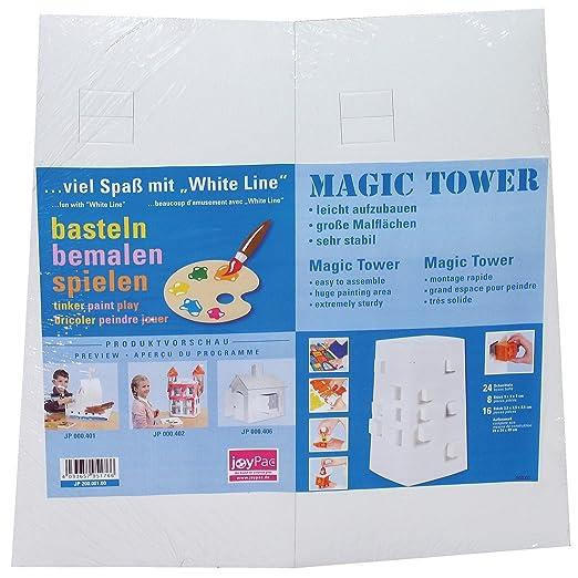 adventskalender xxl turm blanko magic tower white line joypac. Black Bedroom Furniture Sets. Home Design Ideas