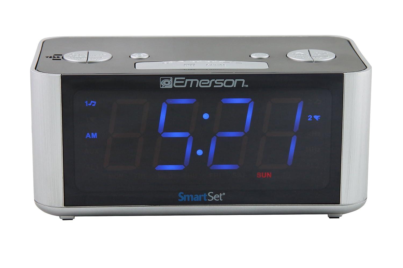 emerson cks1708 smart set radio alarm clock ebay. Black Bedroom Furniture Sets. Home Design Ideas