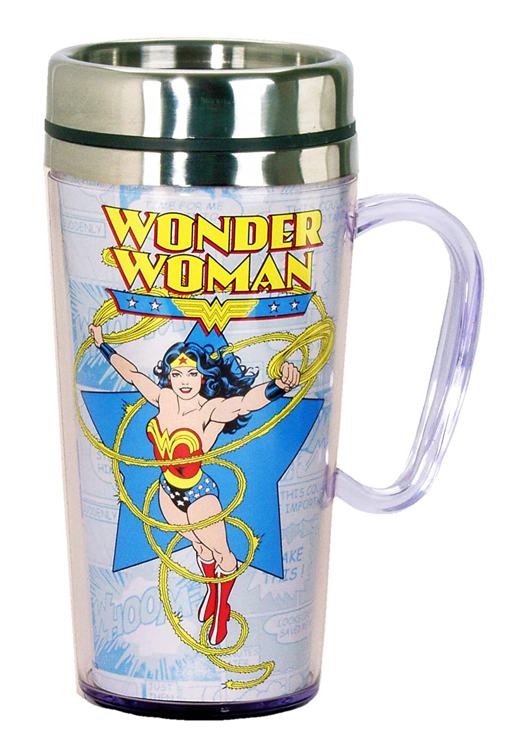 Wonder Woman Travel Mugs