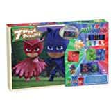 PJ Masks 7 Wood Puzzles In Wooden Storage Box (styles will vary)