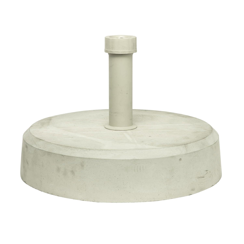 Beton-Schirmständer für Stockmaß von ø 2,1 bis 5,4 cm