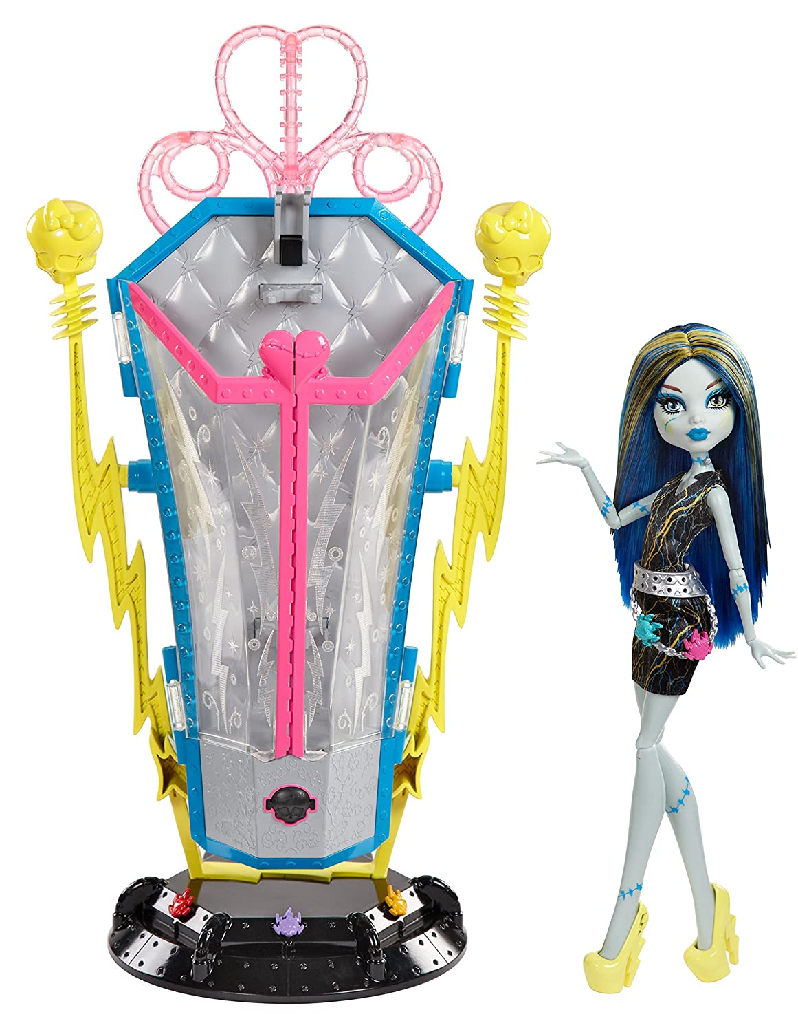 Monster High Freaky Fusion Frankie Stein Recharge Chamber