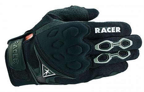 Racer 20540 MX 1 gants, Taille XS, noir