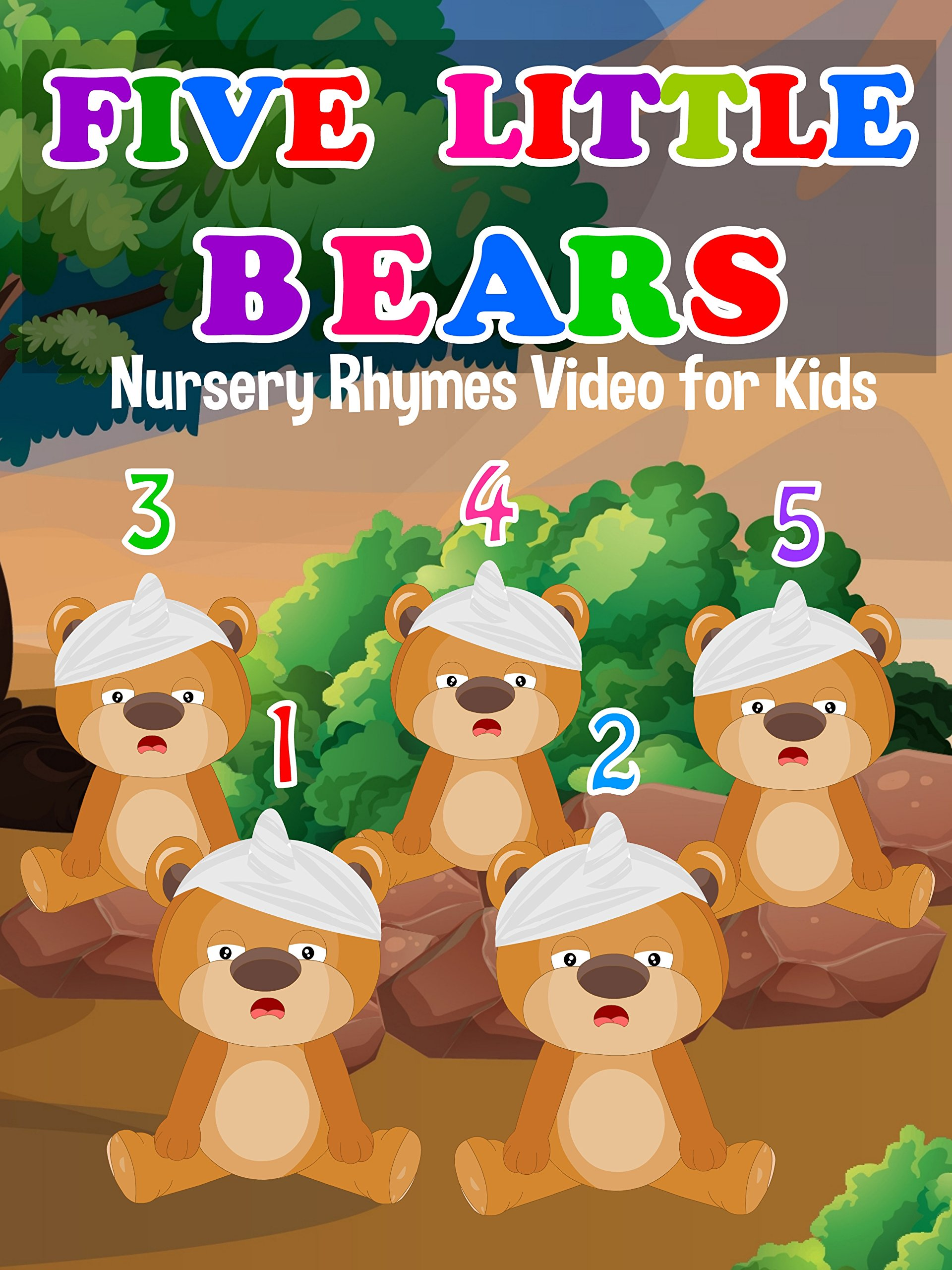 Five Little Bears on Amazon Prime Instant Video UK