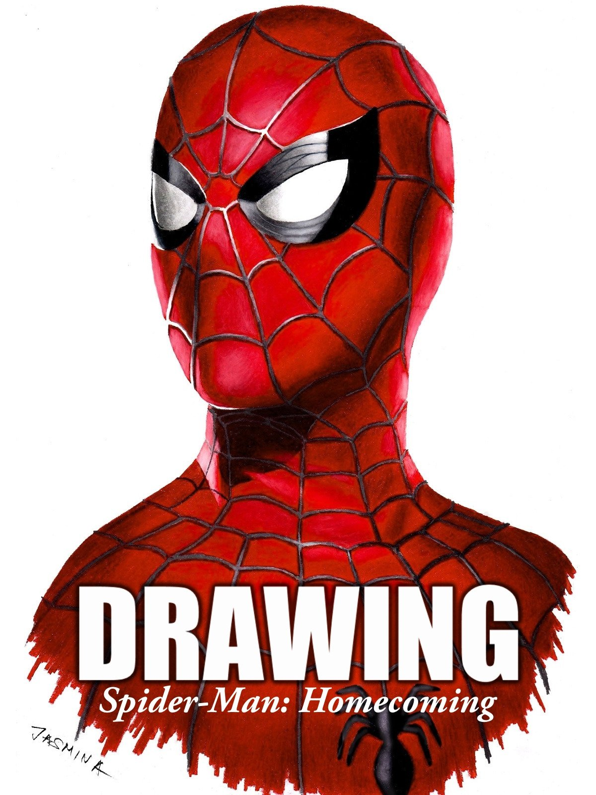 Clip: Drawing Spider-Man: Homecoming