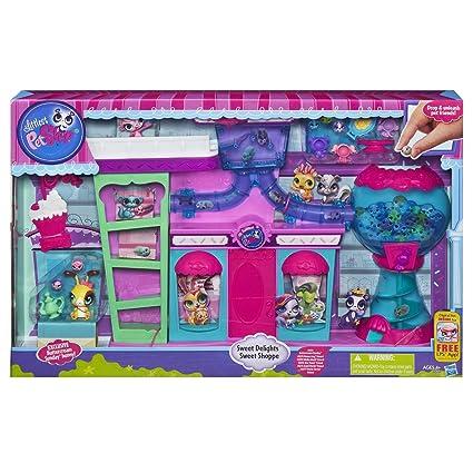 Littlest Pet Shop - A5978E240 - Poupée - La Boutique des Délices + 2 Petshop