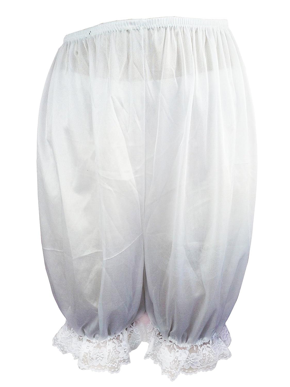 Frauen Handgefertigt Großhandel Los 3 pcs L1WH White Lot 3 pcs Handmade Half Slips Nylon Lace Women günstig kaufen