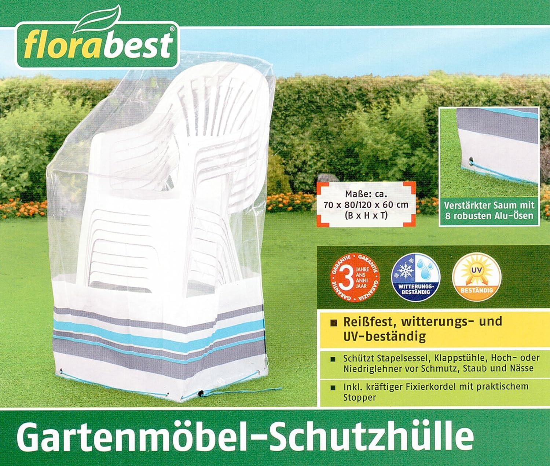 Florabest gartenm bel schutzh lle gartenstuhl gartenst hle stuhl schutz rei fest ebay - Florabest gartenmobel ...