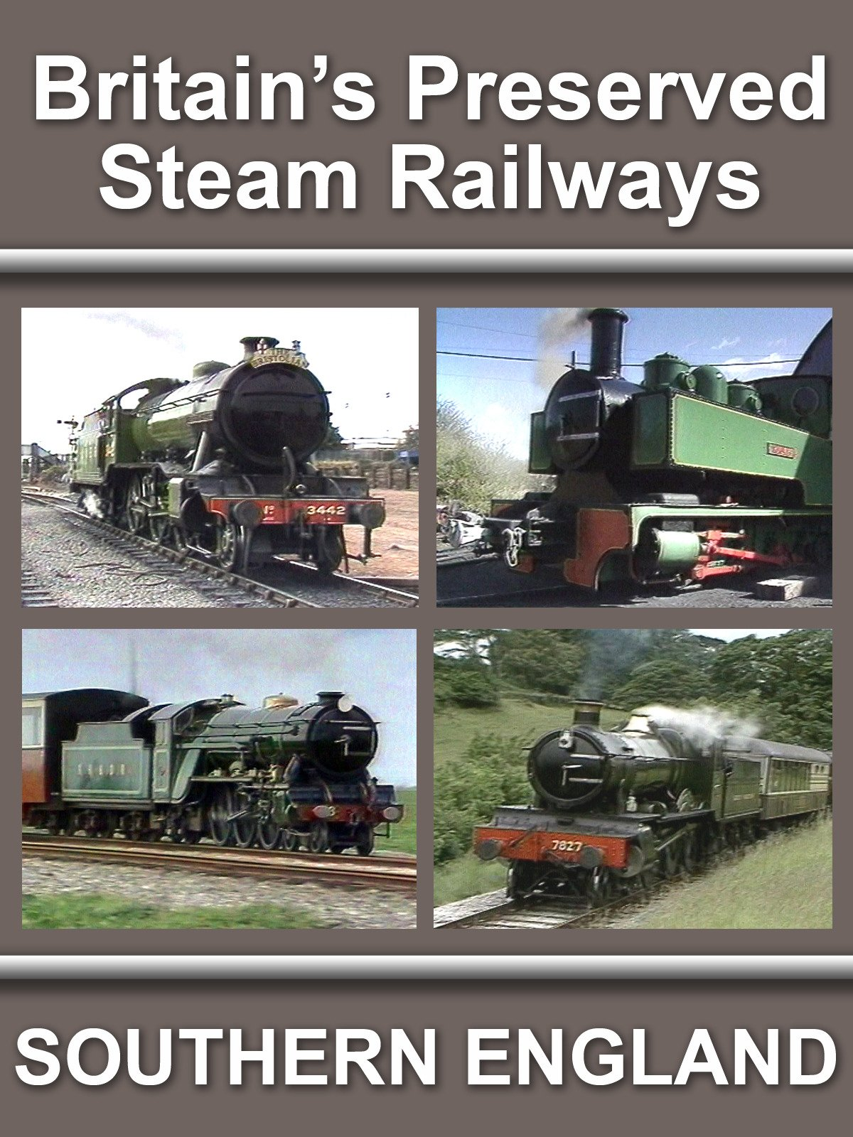 Britain's Preserved Steam Railways
