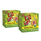 Nabisco Savory Pack Crackers Mix, 20 Count Box, 20 Ounce (Pack of 2)
