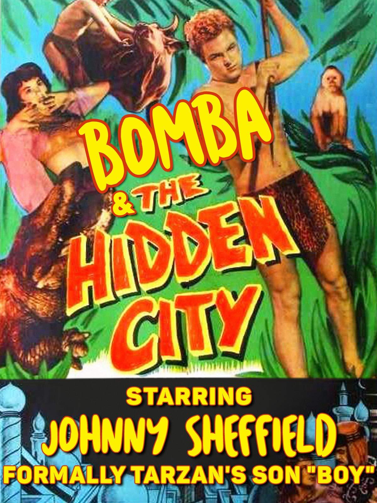 """Bomba & The Hidden City - Starring Johnny Sheffield, Formally Tarzan's Son """"Boy"""""""