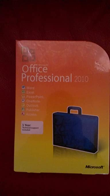 Microsoft Office 2010 Professional (Single) Book Cover
