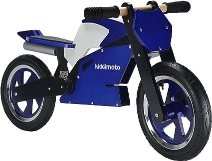 Kiddimoto - 916/115 - Vélo et Véhicule pour Enfant - Superbike Blue White Black