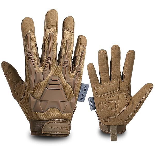 WTACTFUL Upgraded Full Finger//Fingerless Gloves