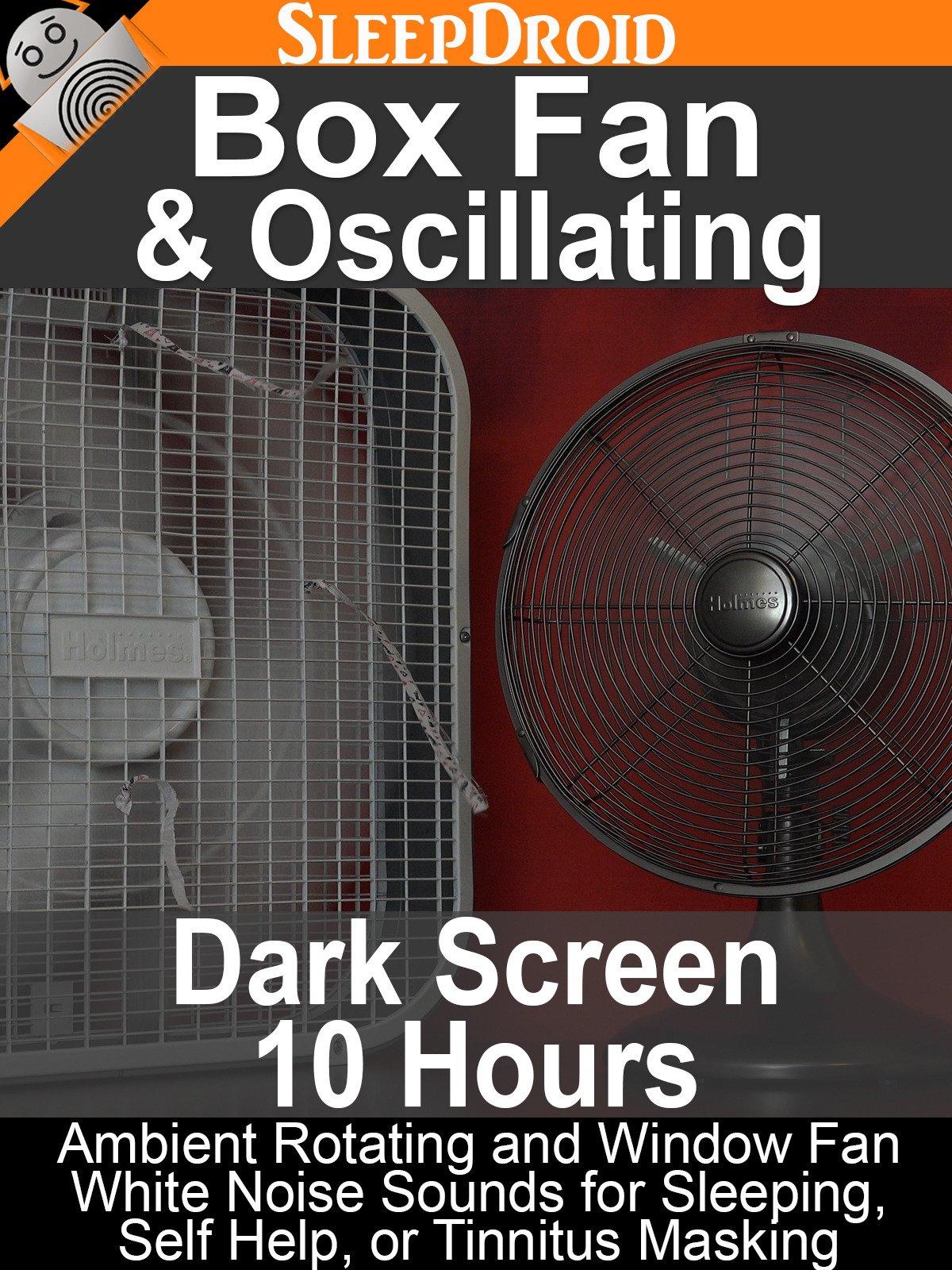 Box Fan and Oscillating (Dark Screen