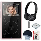 FiiO X1 2nd Gen (Rose Gold), mp3 Player - High Resolution, Portable, Bluetooth Music Player + MicroSD Card + Headphone & Speaker (Color: Rose Gold)