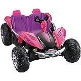 Power Wheels Dune Racer, Pink/Purple (Color: Pink & Purple, Tamaño: 12 Volt)