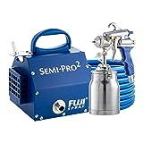 Fuji 2202 Semi-PRO 2 HVLP Spray System, Blue (Color: Blue)