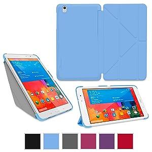 rooCASE Samsung Galaxy Tab Pro 8.4 caso carcasas cubierta funda folio  Electrónica Comentarios