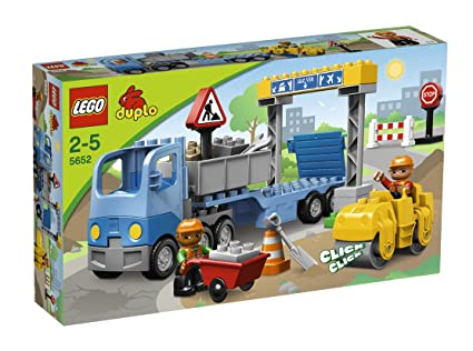 LEGO - 5652 - Jeux de construction - LEGO DUPLO LEGOville - La construction de routes