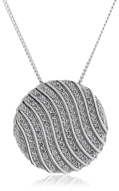 Joop Damen-Halskette 925 Sterling Silber Rachel Zirkonia-Pavée weiÃY ca. 47 cm (42 + 5 cm) JPNL90599A420 schenken