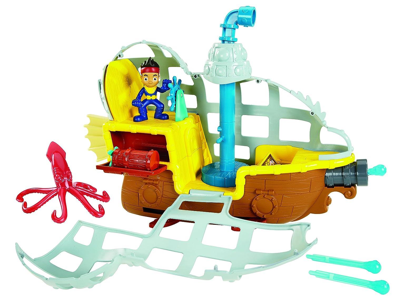 Figura de Acción Fisher-Price, Fisher precio de Jake y los piratas submarinos Bucky nunca de la tierra  s nunca mar aventura en Veo y Compro