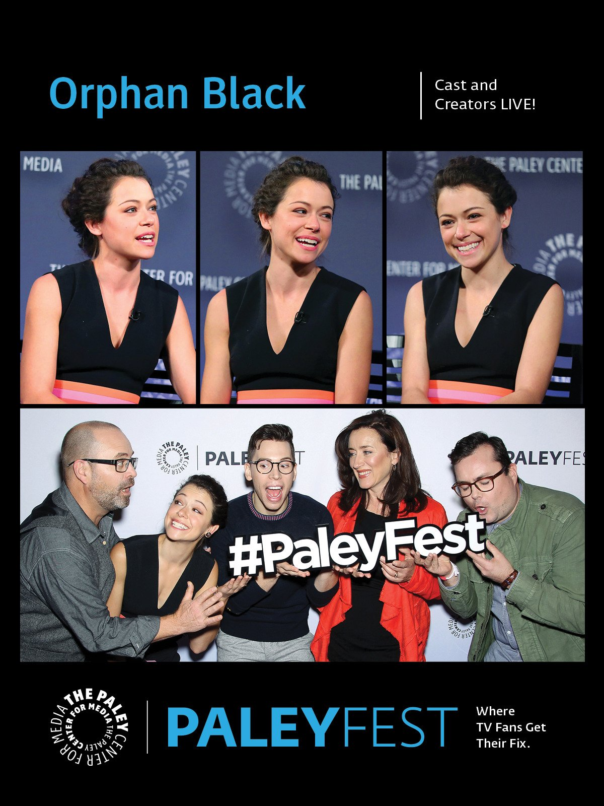 Orphan Black: Cast and Creators Live at PaleyFest NY