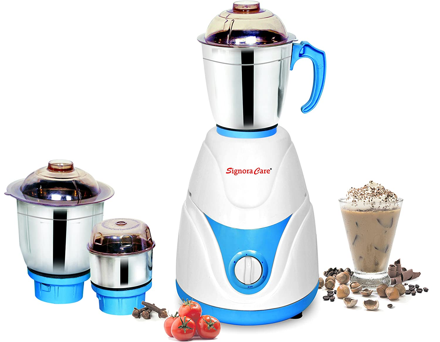 Signora Care Eco Plus 500-Watt Mixer Grinder with 3 Jars (White) By Amazon @ Rs.1,049
