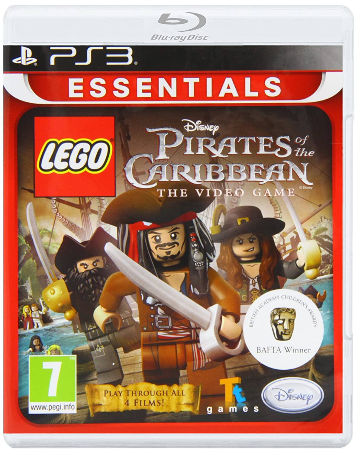 Amazon.com: Lego Pirates of the Caribbean - Playstation 3: Disney Interactive:  Video Games. ... I did not have this problem with any other PS3 Lego games.