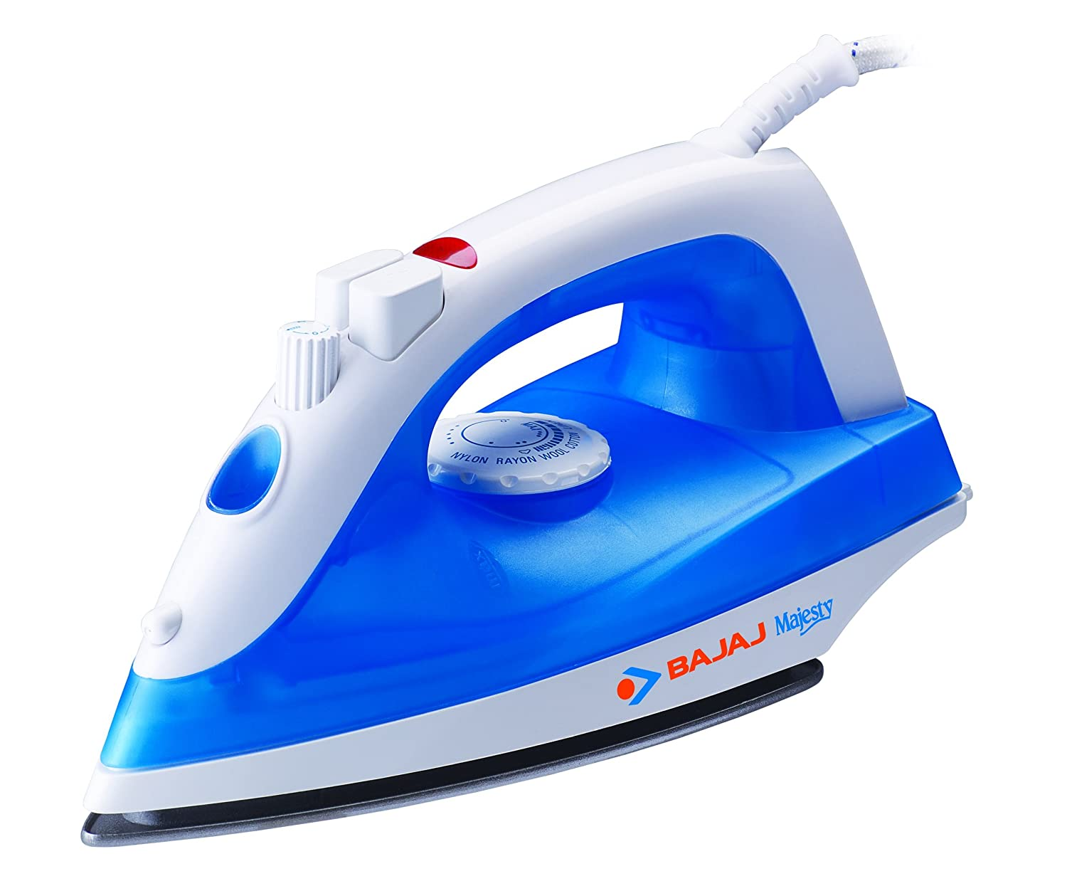 Get Bajaj Majesty Steam Iron  At Rs 649 Modelled MX 20 1200-Watt