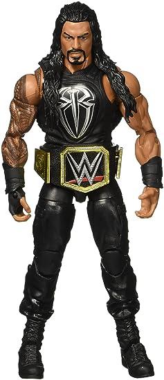 WWE – Elite – Roman Reigns – Figurine Articulée 15 cm