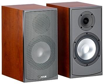 Canton GLE 430 Enceinte Compacte 2-way Système Bass-reflex 140 W Décor cerisier