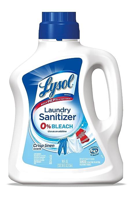 Lysol Laundry Sanitizer Additive Crisp Linen 90oz