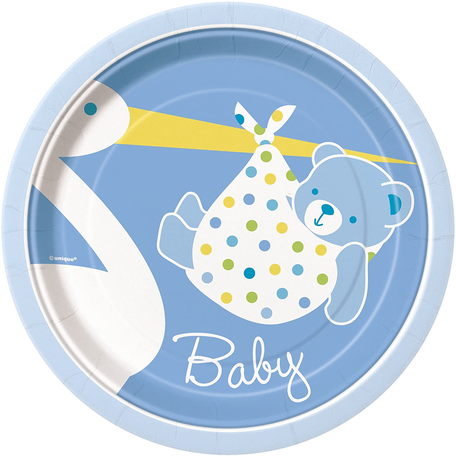 boy baby shower paper plates baby shower mania