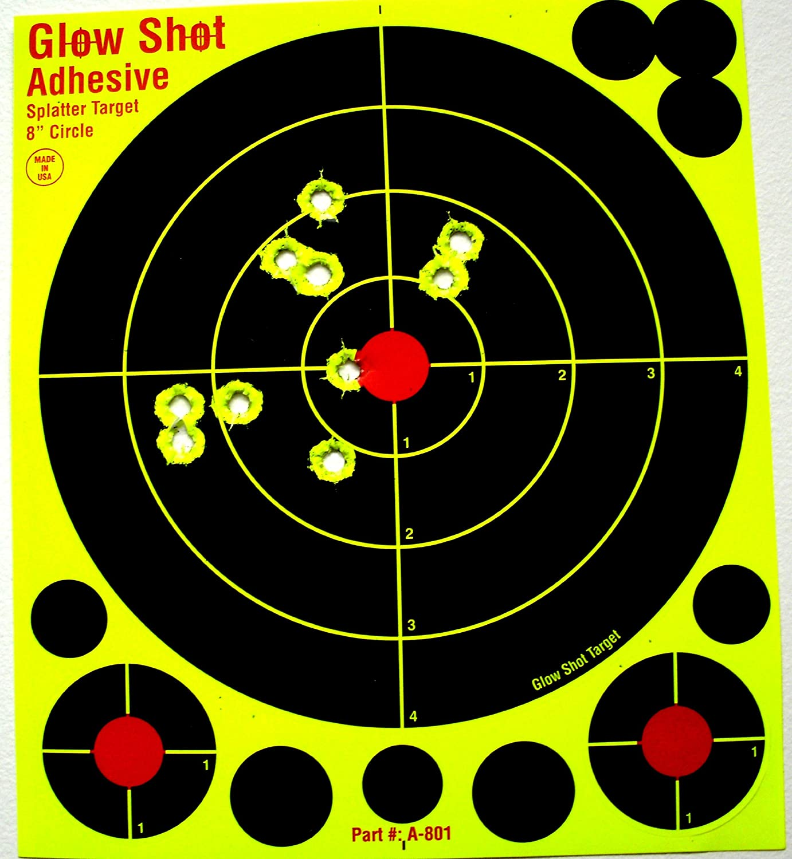 Glowshot 8 Reactive Splatter Targets
