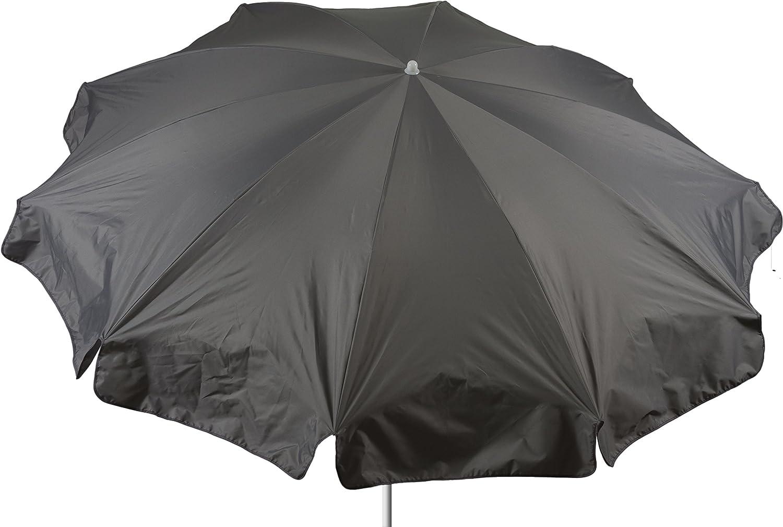 beo Sonnenschirme wasserabweisender, rund, Durchmesser 240 cm, Grau günstig bestellen